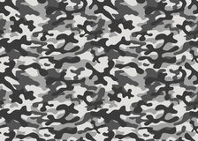 Print texture military camouflage repeats seamless army black gray white hunting royalty free illustration