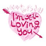 Print Valentine`s Day Royalty Free Stock Image