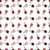 Print with varnish polish. red, pink, maroon nail polish. print Royalty Free Stock Photos