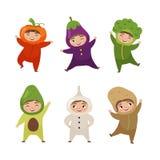Vector illustration of cute kids royalty free illustration