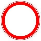 Printable ограничение, запрет подписывает, запретительные дорожные знаки иллюстрация вектора