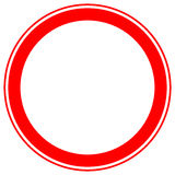 Printable restriction, prohibition signs, prohibitive road signs Stock Photo