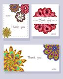 Set banners with abstract elements. Printable Wedding Invitation Template: invitation, thank you card. Marriage event. Valentine.Vector illustration vector illustration