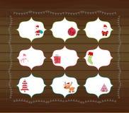 Printables de la Navidad Fotos de archivo