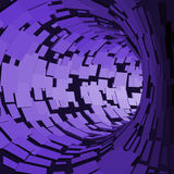PrintAbstract Tunnel. Futuristic Style. 3D Abstract Surface. Turning Tube Tunnel. Perspective Background. Abstract Tunnel. Futuristic Style. 3D Abstract Surface Royalty Free Stock Image