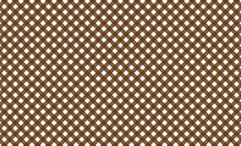 Brown and white gingham seamless pattern.Texture from rhombus/squares for - plaid, tablecloths, clothes, shirts, dresses, p. Brown and white gingham seamless royalty free illustration