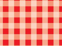 Tablecloth red pattern.Red and white texture for : pla vector illustration