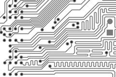 Printed board background vector illustration