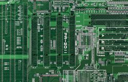 Printed Circuit Royalty Free Stock Images
