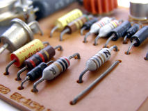Printed circuit Stock Photo