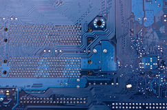 Printed circuit Royalty Free Stock Photos