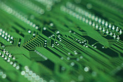 Printed circuit background Royalty Free Stock Images
