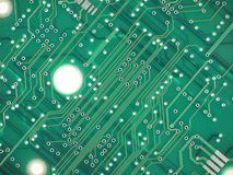 Printed circuit background Stock Photo