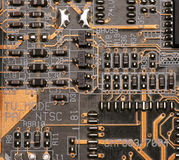 Printed-circuit board Royalty Free Stock Photos