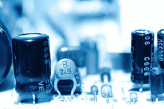 Printed circuit board Royalty Free Stock Photos