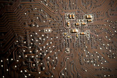 Printed circuit board Stock Images