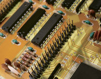 Printed-circuit board Stock Image