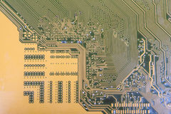 Printed-circuit board Stock Photo