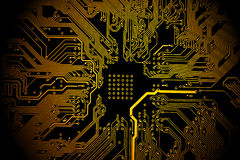 Printed circuit board Stock Photo