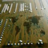 Printed-circuit board Stock Photo