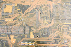 Printed circuit board Royalty Free Stock Image