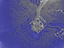 Free Printed Circuit Board Royalty Free Stock Photo - 932875