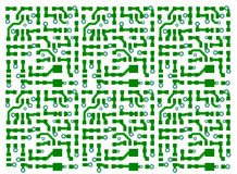 Printed circuit board background Royalty Free Stock Image
