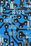 Printed circuit board close up