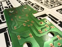 Printed circuit board. Electronic, Technology Can be attributed to your work. Presenting Future Technology Concepts royalty free stock images