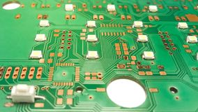 Printed circuit board layout. Electronic, Technology Can be attributed to your work. Presenting Future Technology Concepts royalty free stock photo