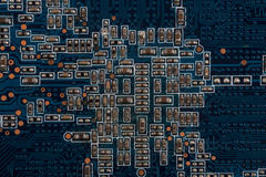 Printed circuit board Stock Image