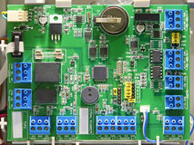 Printed circuit board. PCB Royalty Free Stock Photography
