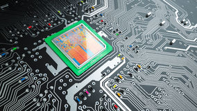 Printed circuit board Stock Photos