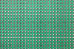 Printed circuit board, seamless pattern background texture. Printed circuit board, many holes, seamless pattern background texture Royalty Free Stock Photography