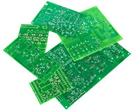 Printed circuit boards Royalty Free Stock Photos