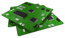 Printed circuit boards Stock Images