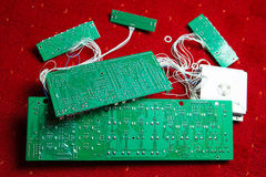 Printed circuit boards Royalty Free Stock Photography