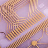 Printed circuit from keyboard Royalty Free Stock Image