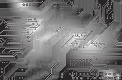 Printed circuit - motherboard Stock Image
