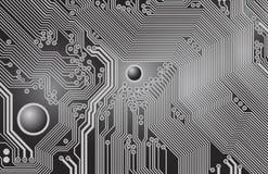 Printed circuit - motherboard Stock Image