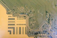 Printed-circuitbräde Arkivfoto