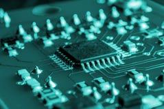 Printed circuits Royalty Free Stock Photo