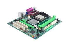 Computer motherboard board Stock Photos