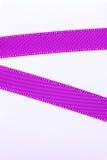 Printed lilac ribbon Royalty Free Stock Photo