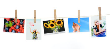 Printed photos Royalty Free Stock Photography