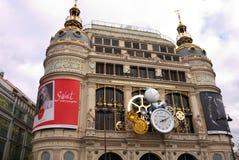 Printemps百货大楼巴黎2015年 库存图片