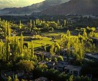 Printemps dans Leh, Ladakh Image stock