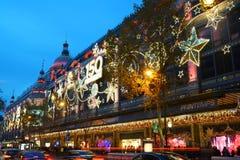 Printemps Paris December 2015 Stock Photos