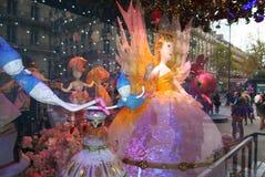 Printemps Showcase December 2015 Paris Royalty Free Stock Images