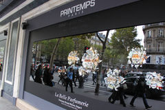 Printemps stores Stock Image